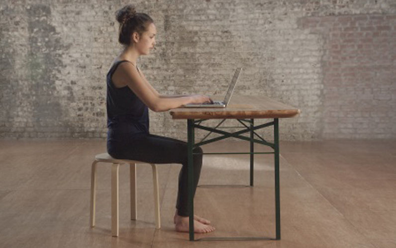How to sit at a desk, work at a computer … and maybe even enjoy it!