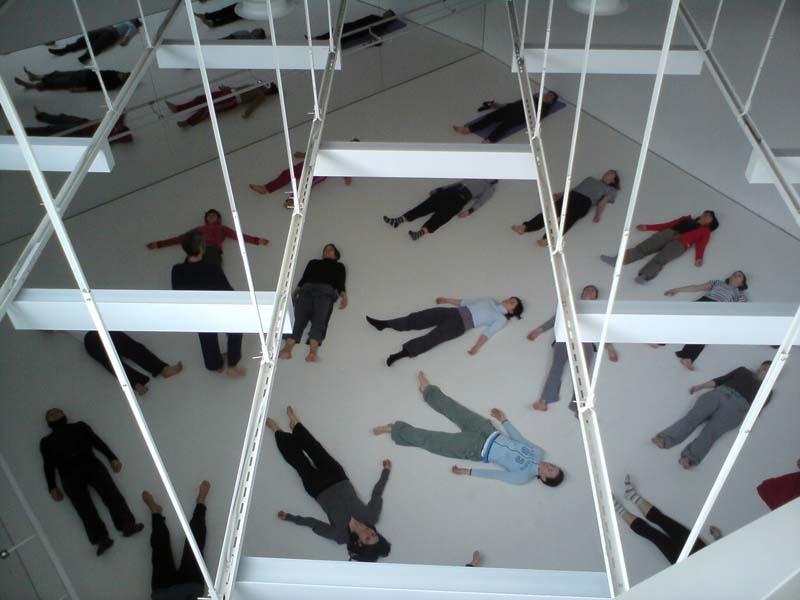 """""""Teaching in Zagreb (2010). Photo by Nikolina Marmilic"""""""